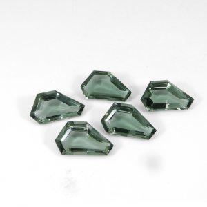 Green Amethyst Hydro 25x14mm Fancy Cut 15.90 Cts