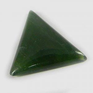 Green Escora 22x20mm Trillion Cabochon 10.5 Cts