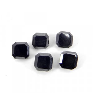 Hematite 8x8mm Cushion Baguette Cut 5.04 Cts
