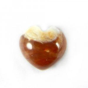Honey Opal 10mm Heart Cabochon 4.1 Cts