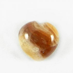 Honey Opal 12mm Heart Cabochon 7.05 Cts