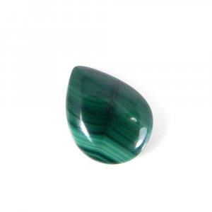 Hot Sale Malachite Gemstone 16x12mm Pear Cabochon 11.60 Cts