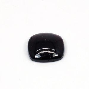 Hyderbadi Garnet 14x14mm Cushion Cabochon 12.30 Cts Loose Gemstone