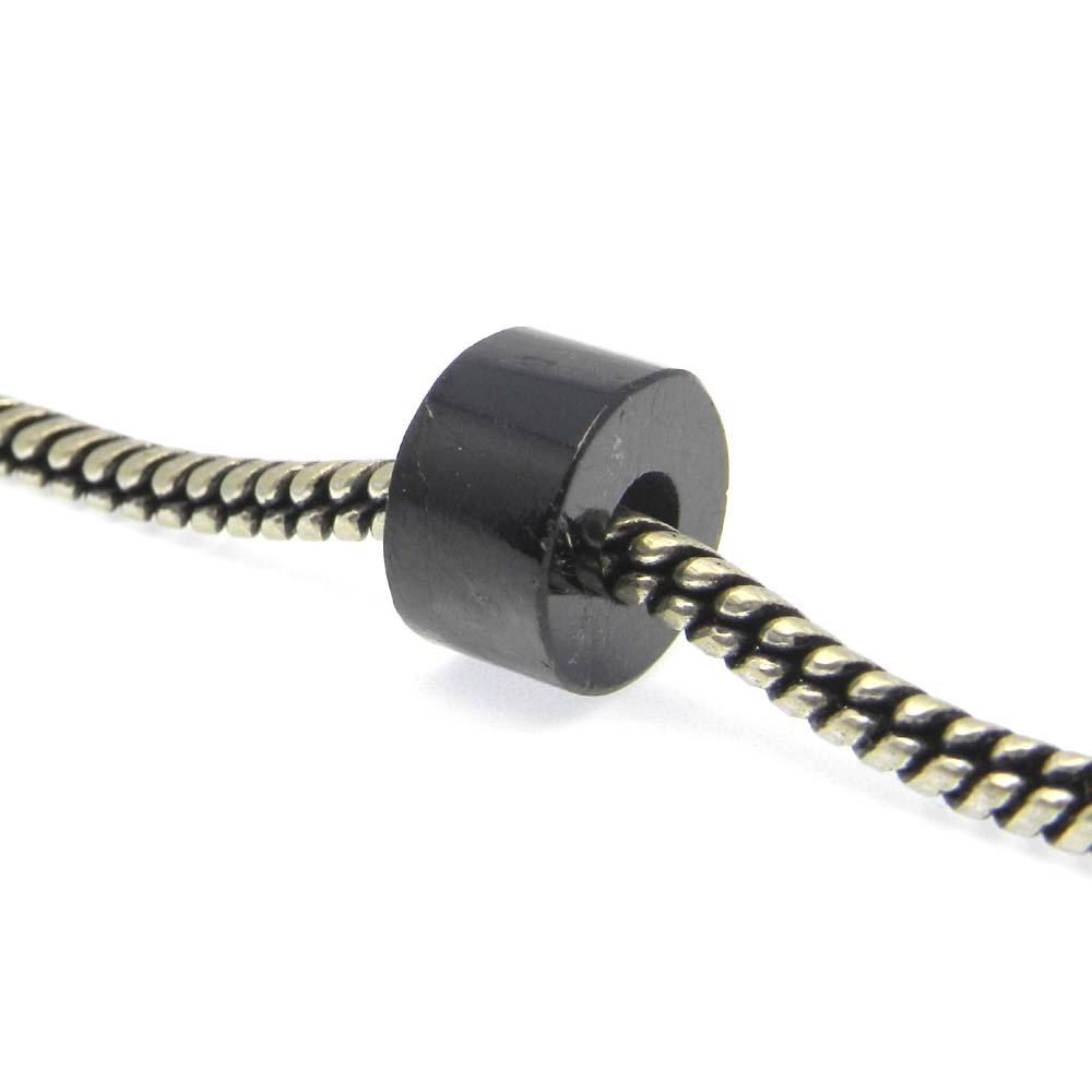 Hypersthene 14x8x5mm Round Flat Beads