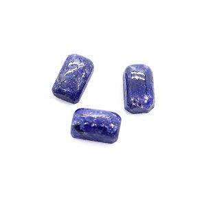 3 Pcs Natural kyanite 5x3mm Octagon Cabochon 1.40 Cts