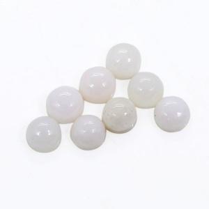 8 Pcs Natural Pink Aragonite 5mm Round Cabochon 5.75 Cts