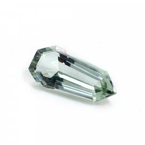Green Amethyst Hydro 26x16mm Polygon Cut 13.30 Cts