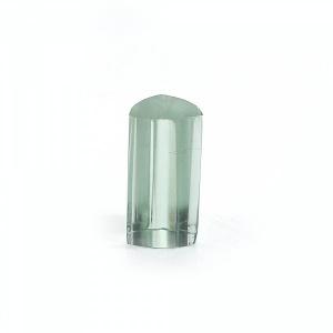 Green Amethyst Hydro 18x9mm Trillion Tube Cut 18.45Cts