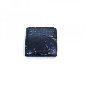 Natural Covellite 20x20mm Square Cabochon 19.70 Cts