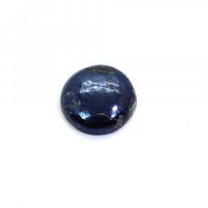 Natural Covellite 15mm Round Cabochon 7.80 Cts
