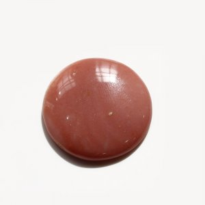 Natural Pink Opal 29mm Round Cabochon 30.25 Cts