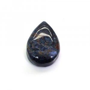Natural Pietersite Jasper 28x19mm Pear Cabochon 32.60 Cts