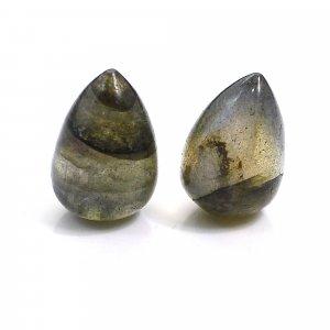 Natural Labradorite 12x8mm Drop Smooth 10.30 Cts