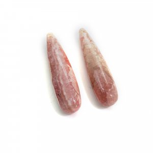 Natural Rhodochrosite 20x5mm Drop Smooth 10.55 Cts