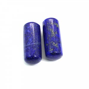 Natural Lapis Lazuli 25x10mm Capsule Smooth 55.45 Cts