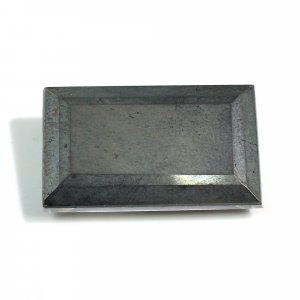 Natural Crystal & Pyrite Doublet 25x15mm Rectangle Cut 28.10 Cts