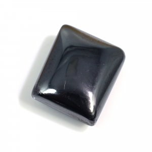 Natural Hematite 13x11mm Rectangle Cabochon 15.45 Cts