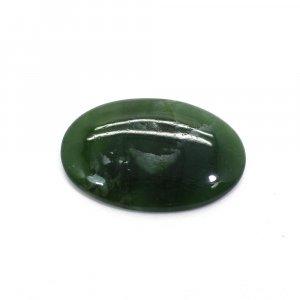 Natural Green Escora 30x20mm Oval Cabochon 21.05 Cts