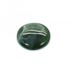 Natural Green Escora 22mm Round Cabochon 17.75 Cts