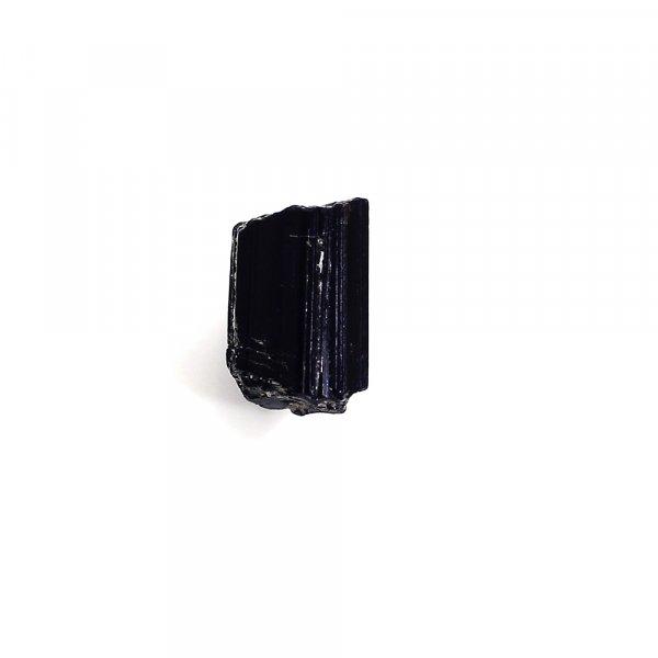 Natural Black Tourmaline 9x6mm Raw Rock 3.20 Cts
