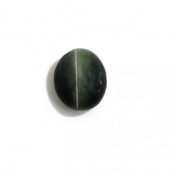 Natural Cat's Eye 11x9mm Oval Cabochon 4.95 Cts