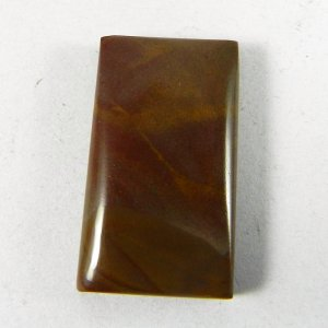 Imperial Jasper 28x16mm Rectangle Cabochon 26.8 Cts