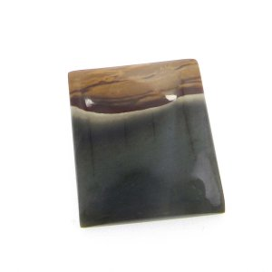 Imperial Jasper 28x23mm Rectangle Cabochon 29.15 Cts