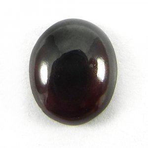 Indian Garnet 10x8mm Oval Cabochon 3.2 Cts