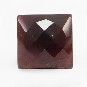 Indian Garnet 12x12mm Cushion Checker Cut 11.2 Cts