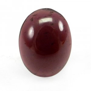 Indian Garnet 16x12mm Oval Cabochon 10.4 Cts