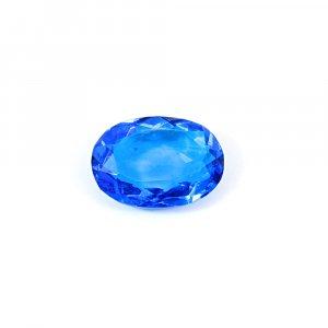 Ink Blue Hydro 30.25 Cts Oval Cut 27x19mm Loose Gemstone