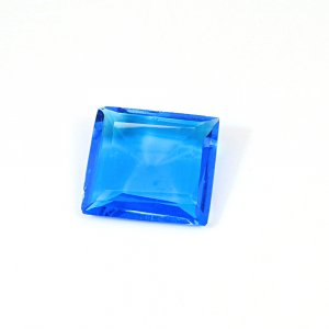 Ink Blue Hydro 30.30 Cts Rectangle Cut 25x22mm Loose Gemstone