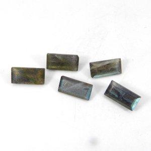 Labradorite 14x7mm Rectangle Baguette Cut 5.40 Cts
