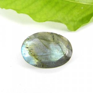 Labradorite 18x13mm Oval Faceted Cut 8.90 Cts