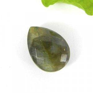 Labradorite 18x13mm Pear Briolette Cut 9.35 Cts