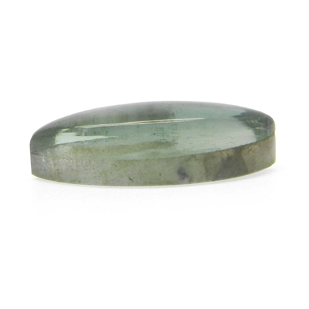Labradorite And Green Amethyst Doublet 20x8mm Marquise Cabochon 9.1 Cts
