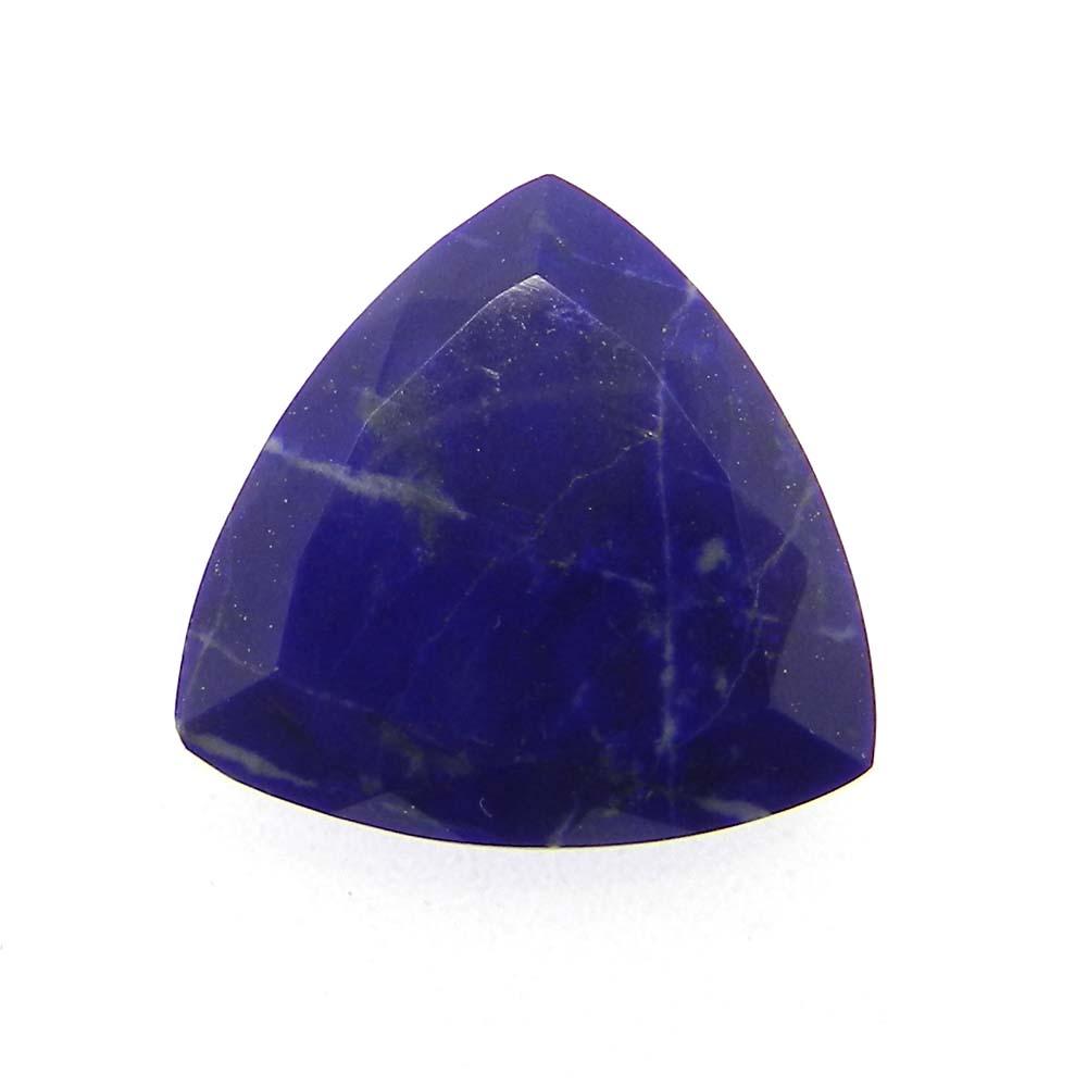 Lapis Lazuli 18x18mm Trillion Cut 11.82 Cts