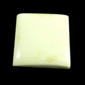 Lemon Chrysoprase 15x15mm Square Cabochon 10.05 Cts