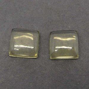 Lemon Quartz 10x10mm Square Cabochon 4.65 Cts