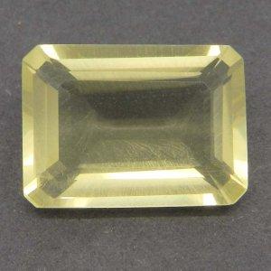 Lemon Quartz 18x13mm Octagon Cut 13.2 Cts