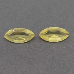 Lemon Quartz 20x10mm Marquise Cut 7.1 Cts