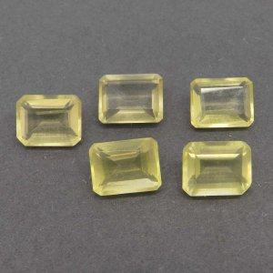 Lemon Quartz 9x7mm Octagon Cut 2.26 Cts