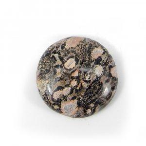 Leopard Skin Jasper 17mm Round Cabochon 9.60 Cts