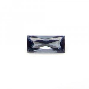 Light Weight Gemstone Blue Tourmaline 9x4mm Rectangle Baguette Cut 1.00 Cts