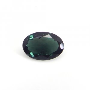 Loose Gemstone Blue Tourmaline 12x8mm Oval Faceted Cut 3.00 Cts