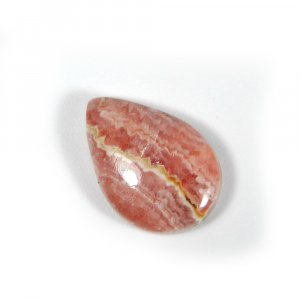Loose Gemstone Rhodochrosite 18x12mm Pear Cabochon 10.90 Cts