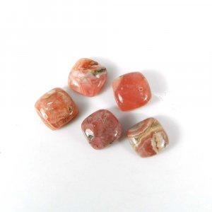 Loose Gemstone Rhodochrosite 8x8mm Cushion Cabochon 3.15 Cts