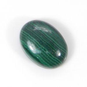 Malachite 18x13mm Oval Cabochon 16.85 Cts