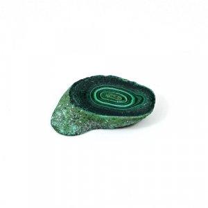 Malachite Slab 29.25 Cts Freeform Flat 26x16mm Loose Gemstone