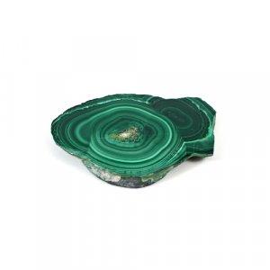 Malachite Slab 59.45 Cts Freeform Flat 42x28mm Loose Gemstone